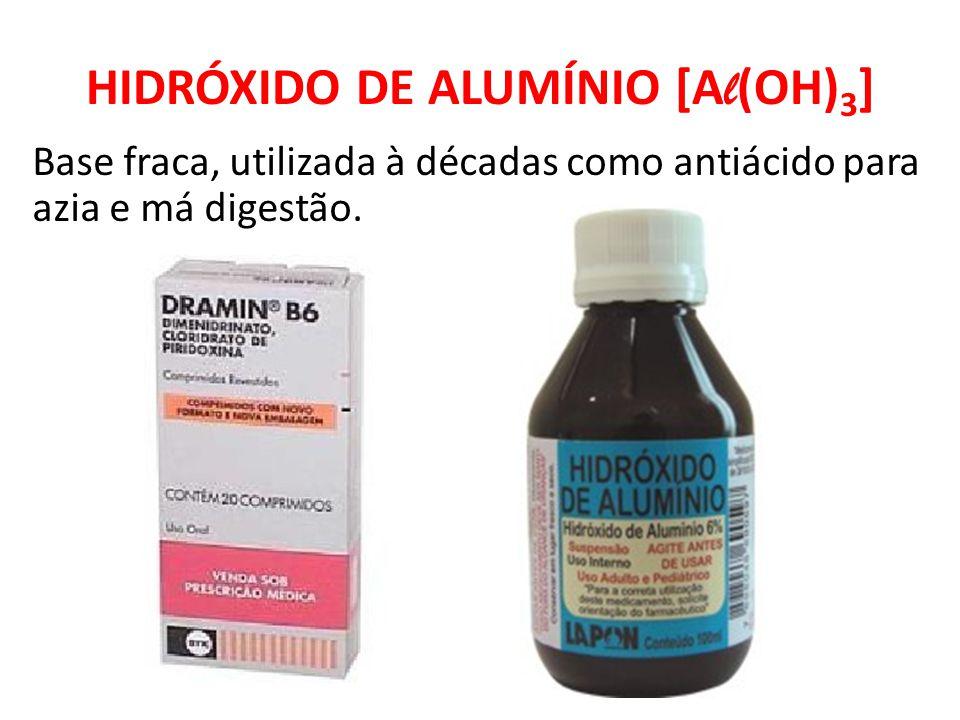 HIDRÓXIDO DE ALUMÍNIO [Al(OH)3]